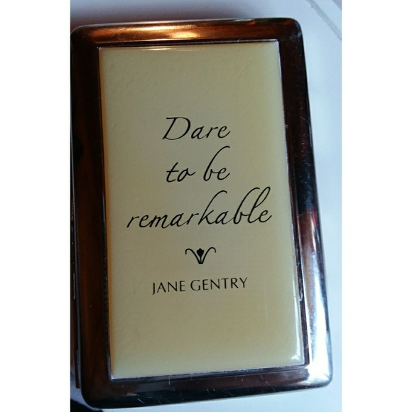 Jane gentry accessories silver and lucite business card holder m5b736f0f3c9844a1b465c2d6 colourmoves
